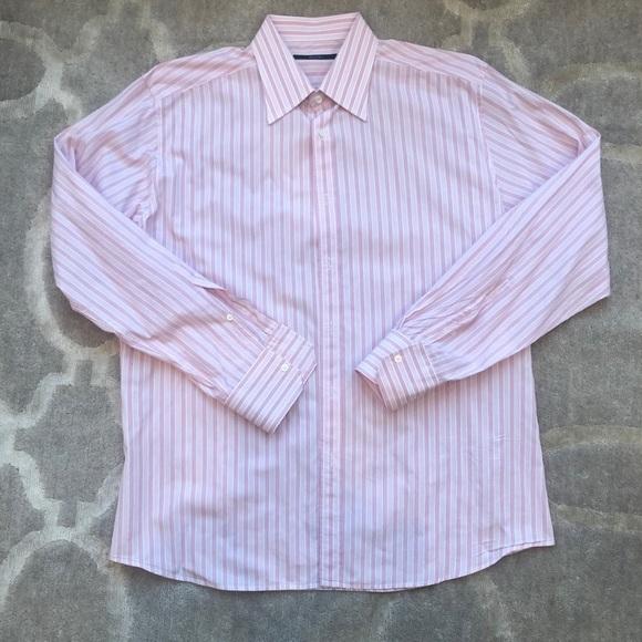 Men\u2019s Gucci Pink Button Down Dress Shirt